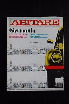 ABITARE magazine no. 226 / July - August 1984 / Germany