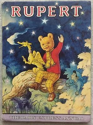 Rupert The Bear annuals x 12 JOBLOT (1958 to 1979) various conditions.See images