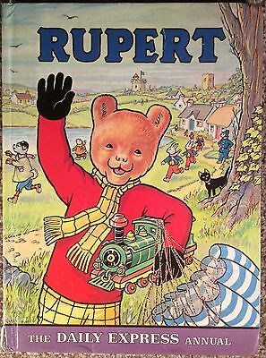 Rupert The Bear Annual 1976. VG Condition. Fantastic Copy No Name,Not Clipped