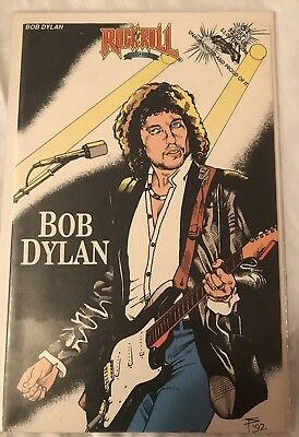Rock N Roll Comics Bob Dylan NM