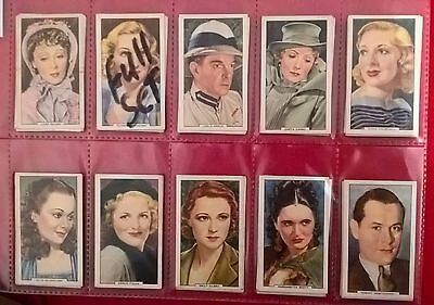 Gallher  1934 Cigarette Cards In Sleeve - Original -Full Set-My Favourite Part