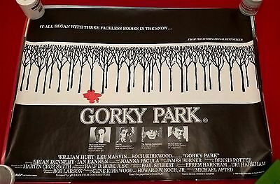 Gorky Park  -   Original Uk Quad Poster .