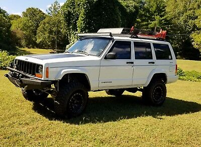 2000 Jeep Cherokee Sport 2000 Jeep Cherokee, Smittybuilt, G2, Iron Rock Offroad, Clayton, RE, NO Reserve