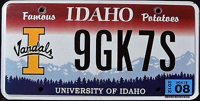 "IDAHO "" VANDALS - UNIVERSITY - BASKETBALL "" ID SPECIALTY License Plate"