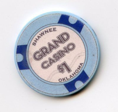 1.00 Chip from the Grand Casino in Shawnee Oklahoma #2