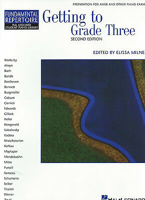 GETTING TO GRADE 3 THREE 2nd EDITION - BOOK ONLY - MELISSA MILNE
