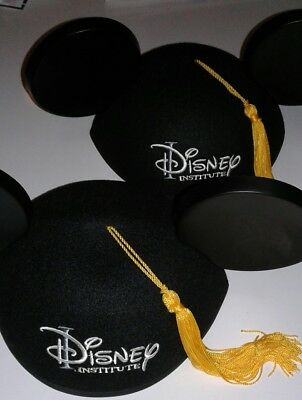 Disney Parks Institute Graduation cap with mouse ears and tassel