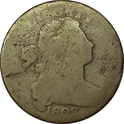 1802 Draped Bust Large Cent  *Four Berries on Right*  S-236  R-1 (item #-713AO)