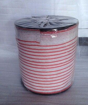 POLY TAPE 200m Roll 40mm - 10 strand - Electric Fence, polytape