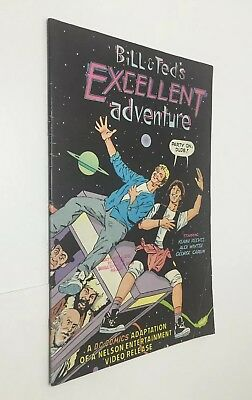 "Bill and Ted's Excellent Adventure ""Movie Adaptation"" DC Comics, 1989"