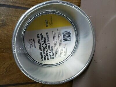 New Focus Foodservice Commercial Bakeware Aluminum Springform Pan 6in
