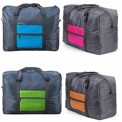 Travel Big Size Foldable Luggage Bag Clothes Storage Carry-On Duffle Bag Gift