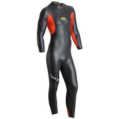 BlueSeventy Sprint Mens Wetsuit Black/Orange