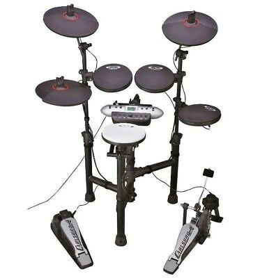 Carlsbro Csd130Bk 5 Piece Electronic Drum Kit With Lcd Display *brand New*