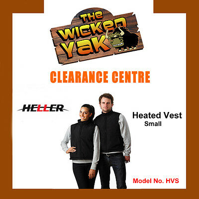 Heller Unisex Rechargeable Electric Heated Vest Size S FREE SHIPPING BRAND NEW