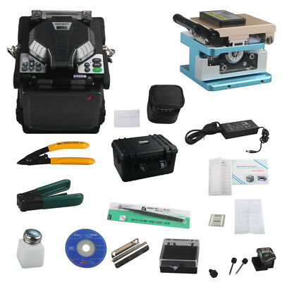 RY-F600P FTTH palm top Fusion Splicer With Optical Fiber Cleaver Stripper Focus