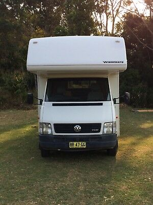 VW 6 Berth Camper winnabago