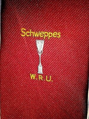 Vintage Schweppes Welsh Rugby Union Tie