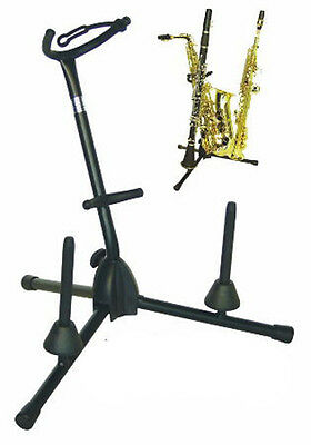 Saxophone Stand Stand Alto Tenor Saxophone 2 Clarinet