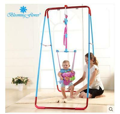 Fashion Pink Adjustable Length 140-237CM Children Hanging/Jump Chair Toys *2