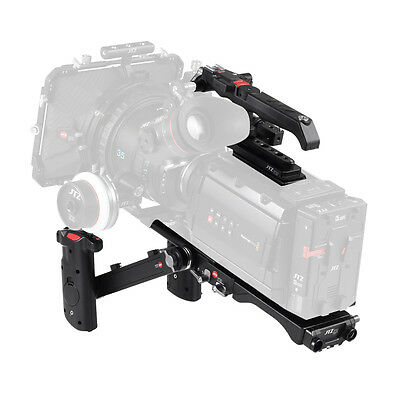 JTZ DP30 Cage Baseplate Shoulder Rig KIT Top Handle For Blackmagic URSA MINI