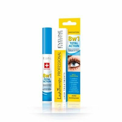 Eveline Cosmetics 8In1 Total Action Concentrated Eyelash Serum