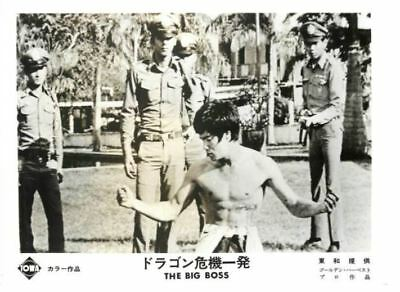 FIST OF FURY  Bruce Lee  Lobby card movie japan  about 16.5 x 12cm #2