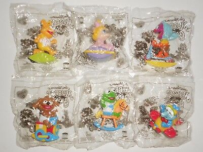 Vintage The MUPPETS Babies Hungry Jacks Fast Food Full Set - Sealed in Bags