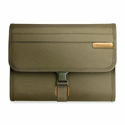 Briggs & Riley Baseline Deluxe Toiletry Kit 1026 OLIVE