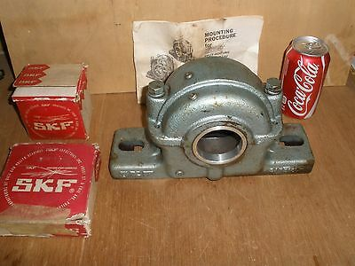 NOS SKF SAF 513 L Pillow Block CKJ/W33 Taper Bore Bearing SNW 13-2 3/16 Adapter