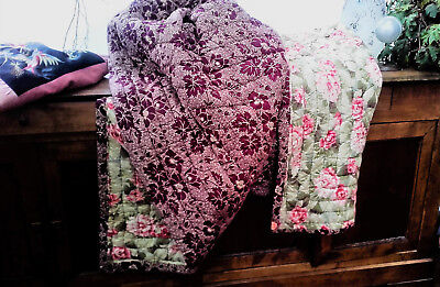 Beautiful French Antique Boutis Quilt