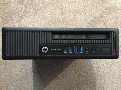 HP EliteDesk 800 G1 USDT i5-4570s Quad Core, 4GB Ram, 500GB HDD. Windows 10 Pro