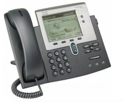 CISCO Unified 7942 IP Phone with handset, Stand - Grade A