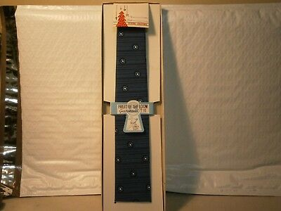 Vintage Neck Tie NIB Fruit Of The Loom Old Clothing Accesory Free USA Shipping