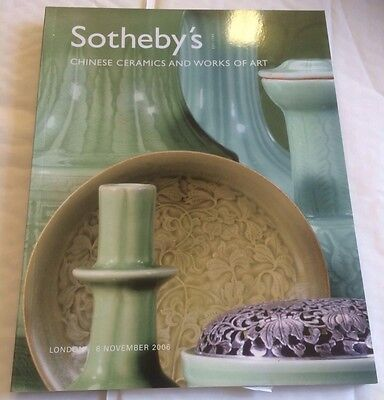 Sotheby's Catalogue 8 November 2006 London Chinese Ceramics And Works Of Art