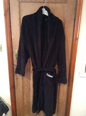 Guinness® Dressing Gown at Cotton Traders – Black – Size M/L