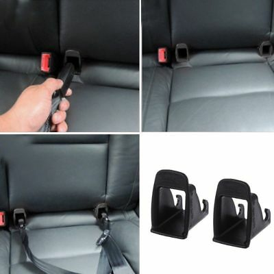 1 Pair Car Baby Seat ISOFIX Latch Belt Connector Plastic Guide Groove