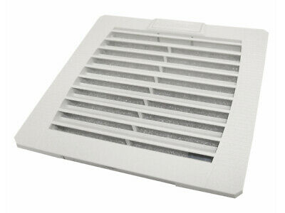 Exhaust filter (Spare grille) for enclosure fan 109 x 109 mm, IP54 - IUKNE150
