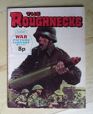 War Picture Library No 1063 The Roughnecks - 1975