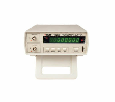 Victor VC2000 Radio High Frequency Counter RF Meter 10Hz-2.4GHz Tester 8 Digit
