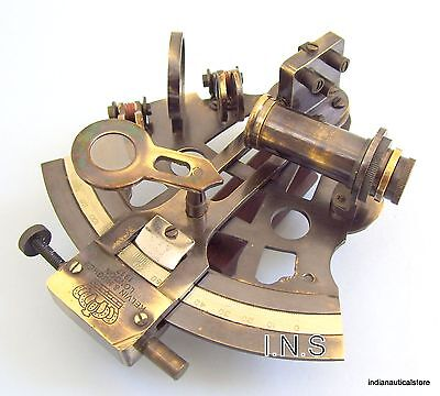 Antique Brass Sextant/ANTIQUE REPRODUCTION BRASS Sextant BRASS NAUTICAL GIFT
