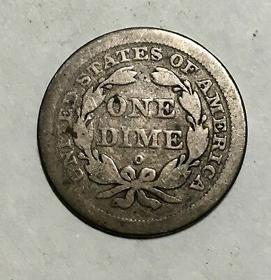 1841-O 10C Liberty Seated Dime