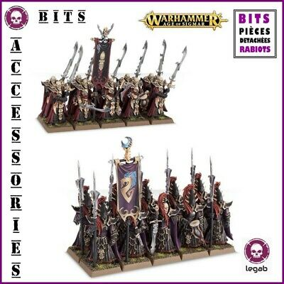 Bits Aelves Black Guard Executioners Dark Elves Warhammer Aos