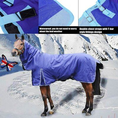 Blue lightweight turnout rug/rain sheet -5'9''&6'6'' horse & pony sizes in stock