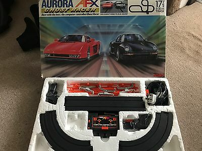 Tomy Aurora Afx Ghost Racer Slot Car  Boxed Complete Set For Spares / Repair