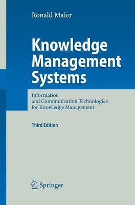 Knowledge Management Systems, Ronald Maier