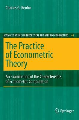 The Practice of Econometric Theory, Charles G. Renfro