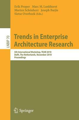 Trends in Enterprise Architecture Research, Marc Lankhorst