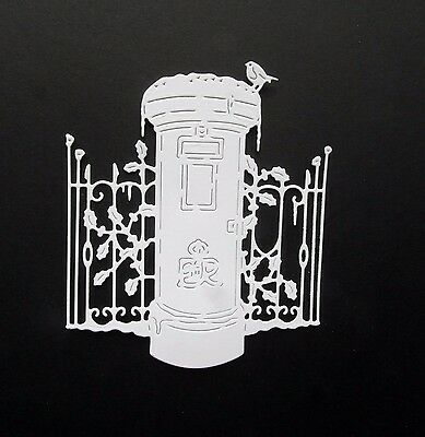 8 White New Release Tattered Lace (Take A Minute Mr Postman) Die Cuts Free P&p