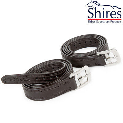 Shires Easy Care Non Stretch Stirrup Leathers – 4117